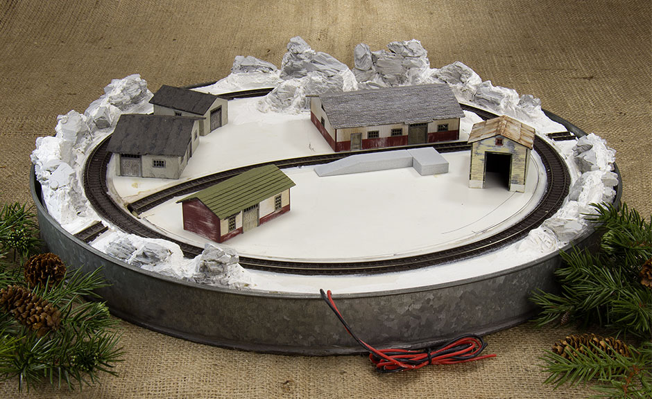 Grinched | N Scale Christmas Layout | Part 1 | Raildig com