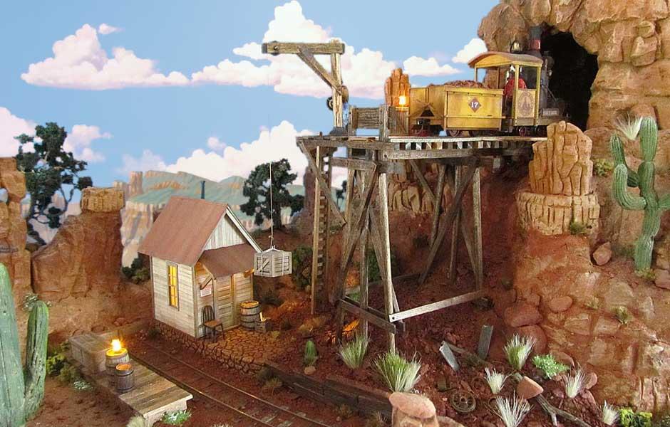 Dave Meek | On30 Thunder Mesa Mining Co  | Raildig com