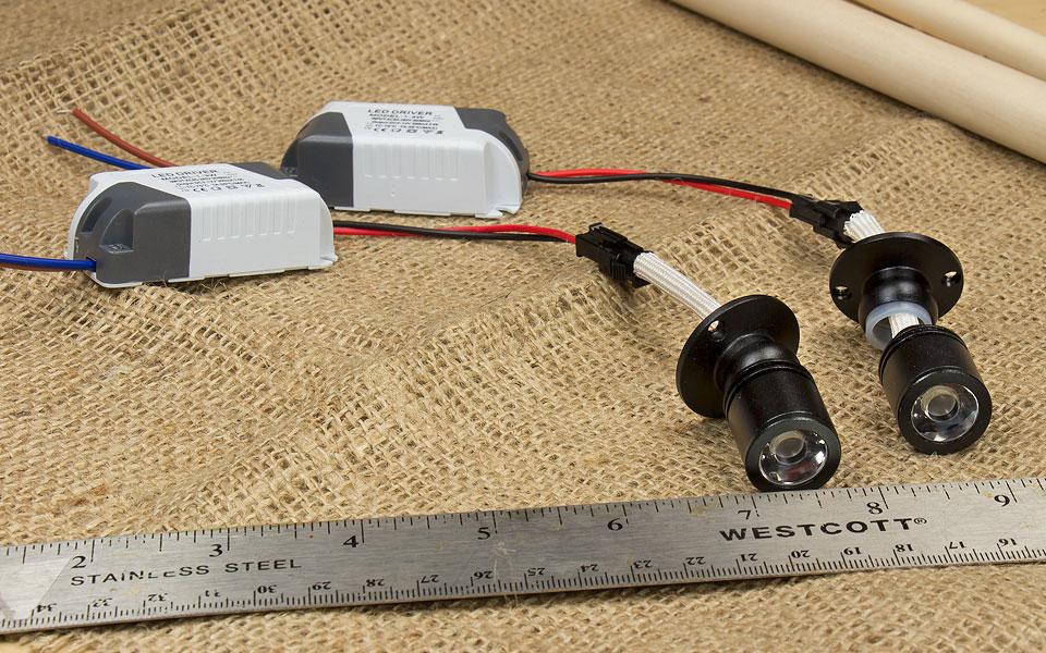 Diy Led Pin Spotlight Raildig