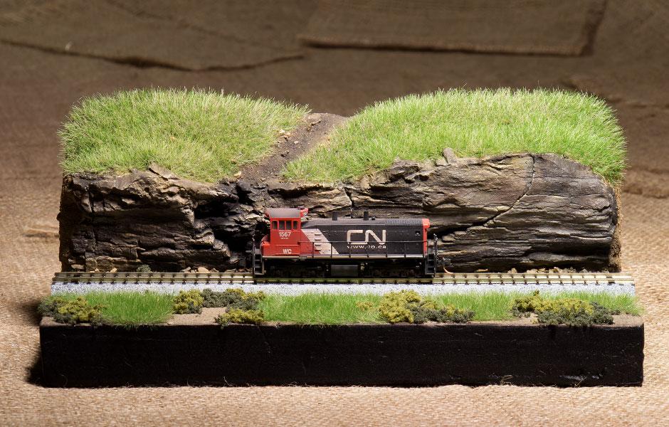 Model Railroad Narrow Vertical Spaces | Raildig com