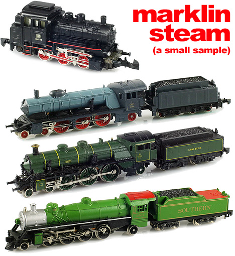 Marklin steam locomotives