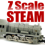 Steam Locomotives In Z Scale