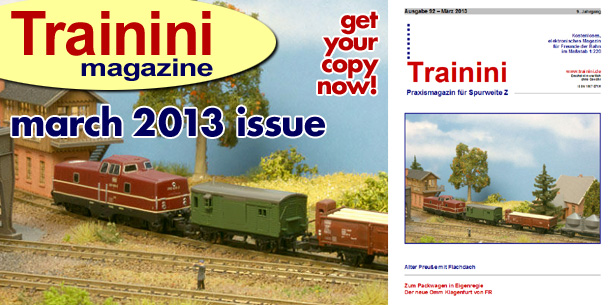 Trainini Magazine