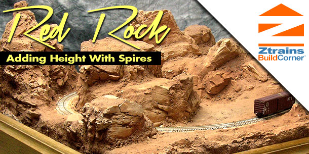 Red Rock Layout Spires