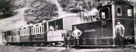 Glyn Valley Tramway In Wales
