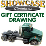Drawing For $25.00 Gift Certificate | Showcase Miniatures
