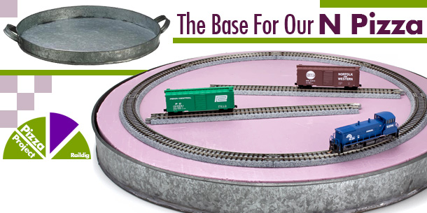 N Scale Pizza Layout Base