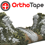 OrthoTape Plaster Cloth For Scenery Building