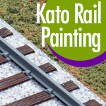 Paint for Kato Unitrack rail