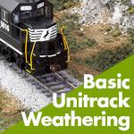 Kato Unitrack Weathering