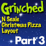 Grinched Model Train Layout | Part 3