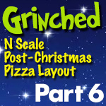 Grinched Model Train Layout | Part 6