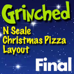 Grinched Model Train Layout | Final