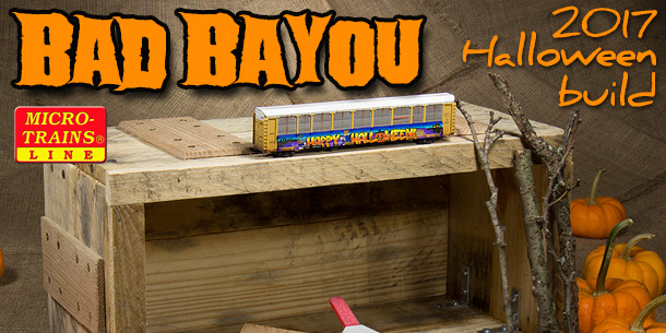Bad Bayou Halloween Diorama | Part 1