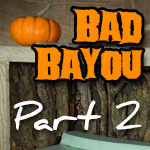 Bad Bayou Halloween Diorama | Part 2