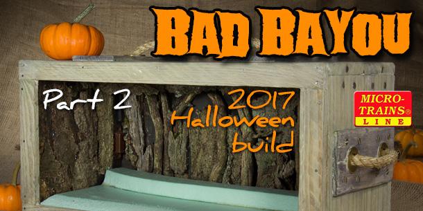 Bad Bayou Halloween Diorama | Part 2
