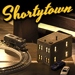 Shortytown in Z Scale
