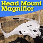 YOCTOSUN Head Mount Magnifier