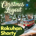 Rokuhan Shorty Christmas | Z Scale Model Train Christmas Layout