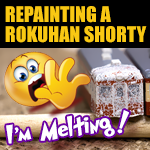 Stripping And Repainting | Rokuhan Shorty Locomotive