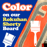 Adding Color On Our Rokuhan Shorty Board