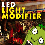 LED Light Modifier | Bad Bayou Halloween Style