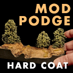 Mod Podge Hard Coat | XPS Foam