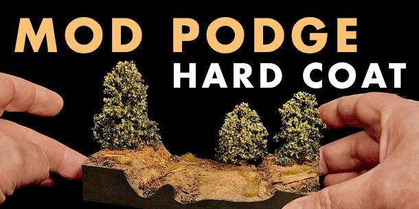 Mod Podge Hard Coat | XPS Foam